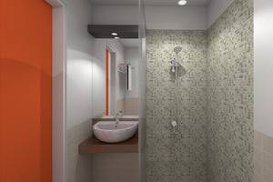 Front One Inn Muntilan Magelang - Bathroom