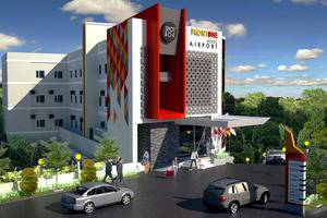 Front One Hotel Airport Solo Solo - fasad