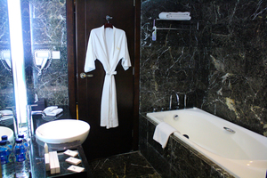 Cambridge Hotel Medan Medan - Kamar Mandi Deluxe