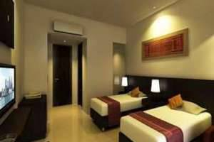 Excellent Seven Boutique Hotel Bandung - Tempat tidur Twin