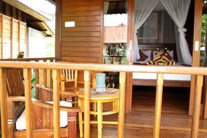Dmas Huts Lembongan Bali - Teras