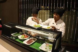 Sanghyang Indah Spa resort Serang - Sushi Room