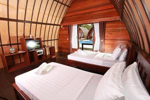 Lumbung Gede Resort Lombok - Tempat tidur Twin