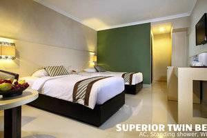 Cakra Kusuma Hotel Yogyakarta - Kamar Tamu Superior