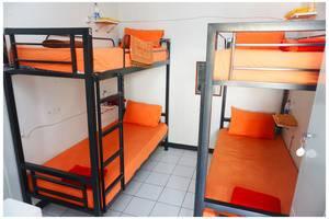 Budi House & Food Station Bandung - Tempat Tidur Dormitory