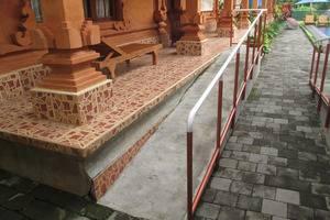 Bon Nyuh Bungalows Bali Bali - Jalan dengan Pegangan Tangan.