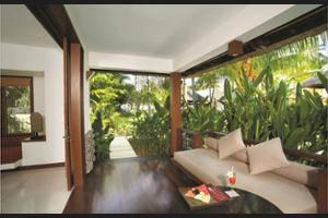 Qunci Villas Lombok - Property Grounds