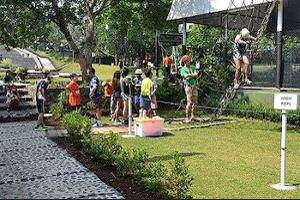 The Highland Park Resort Bogor - Ropes Course (Team Building)