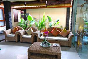 Jimbaran Cliffs Private Hotel & Spa Bali - Lobby Sitting Area