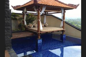 Jimbaran Cliffs Private Hotel & Spa Bali - Terrace/Patio