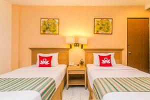 ZenRooms Kuta Kartika Plaza 2 Bali - Tampak tempat tidur double