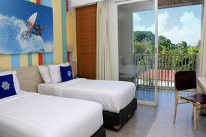 Bliss Surfer Thematic Hotel Bali - Kamar Deluxe