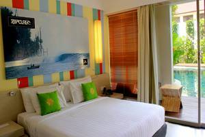 Bliss Surfer Thematic Hotel Bali - Deluxe Lagoon