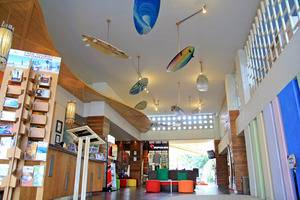 Bliss Surfer Thematic Hotel Bali - Lobi