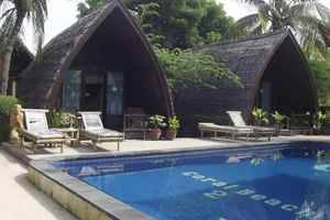 Coral Beach 2 Bungalow Lombok - Pool