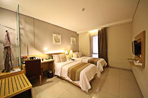 Anggrek Gandasari Hotel Bandung - Superior Room Twin