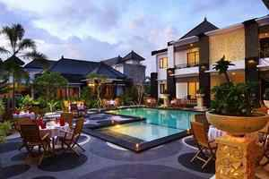The Radiant Hotel Bali - Pool.