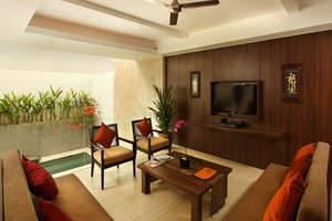 Villa Kayu Raja Bali - Ruang Tamu 2BRV