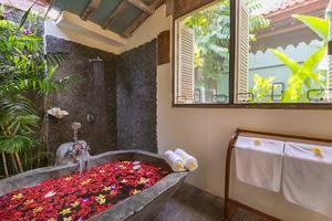 Villa Kampung Kecil Bali - Bathroom Deluxe One Bedroom Suite