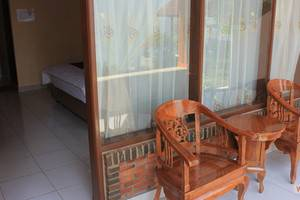 Anju Cottage Samosir - Balkon