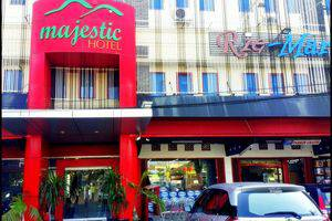 Majestic Hotel Palembang - tampak depan