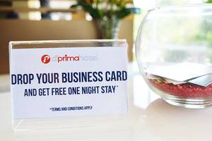 D Primahotel Medan - Drop your business card
