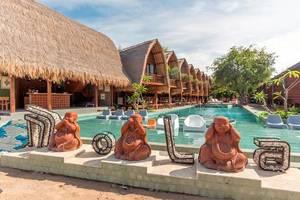 Mola2 Resort Gili Air Lombok - Eksterior