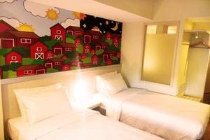 Nite and Day Batam Jodoh Square Batam - Twin Bedroom