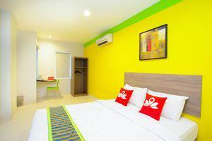 ZenRooms Taman Sari Hayam Wuruk - Tampak tempat tidur double