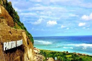 Villa Happy Jimbaran Bali - Pandawa Beach dapat dicapai sekitar 30 menit berkendara