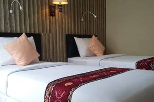 Queen City Hotel Banjarmasin - KAMAR DELUX TWIN