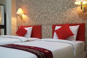Queen City Hotel Banjarmasin - KAMAR TWIN/2 TEMPAT TIDUR TERPISAH