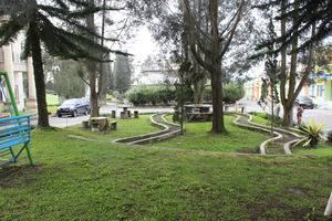 Villa Berastagi Highland Berastagi - taman area villa