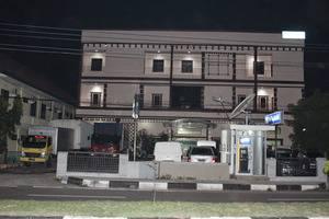 Grand Blang Asan Hotel Pidie - Tampak depan saat malam