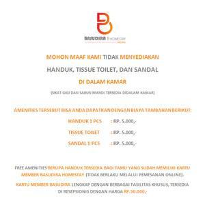 BASUDIRA Homestay Malang Malang - Additional Charge