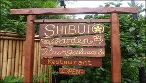 Shibui Garden Bungalows and Restaurant