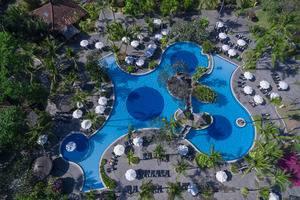 Melia Bali - Pemandangan hotel dari udara
