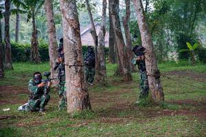 Tlogo Resort & Goa Rong View Salatiga - Paint-Ball