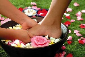 Kori Ubud Resort Spa & Restaurant Bali - Pijat kaki