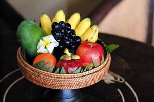 Kori Ubud Resort Spa & Restaurant Bali - Keranjang buah