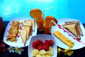 Spunky Premiere Kuta - Pilihan sarapan