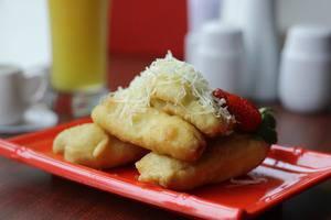 Brothers Inn Babarsari Jogja - pisang goreng
