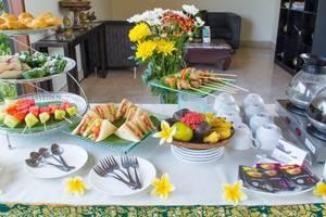 Kunti Villas Seminyak - Afternoon tea set up