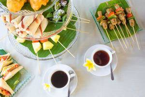 Kunti Villas Seminyak - Afternoon tea set up