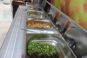 Hotel 3 Intan Cilacap - makan pagi dengan prasmanan, menu indonesian breakfast tersedia kopi & teh