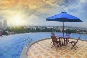 Kyriad Hotel Metro Cipulir Jakarta - Pool