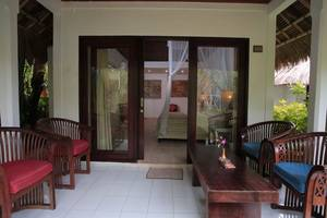 Bali Mystique Hotel Bali - Garden Bungalow Balcony