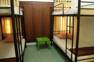 Morotai Camp Hostel Bali - Standard 4 Bed Mixed Dorm W.AC