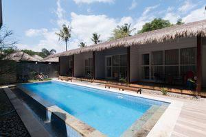 ZEN Villa Gili Trawangan Kepiting Lombok - Kolam Renang