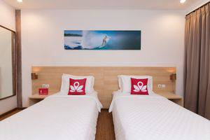 ZEN Villa Gili Trawangan Kepiting Lombok - Tampak tempat tidur double